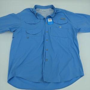 Columbia Active Short Sleeve Shirt XL